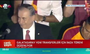 Galatasaray'dan Türk Telekom Stadyumu'nda imza şov