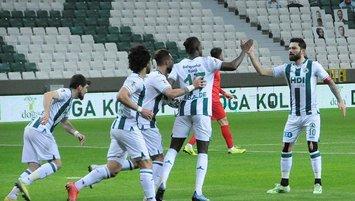 Giresunspor Süper Lig'e göz kırptı!