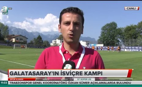 Galatasaray'ın İsviçre kampı
