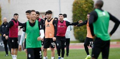 Beşiktaş Antalya'daki son antrenmanını yaptı