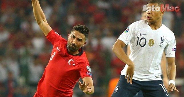 Hasan Ali Kaldırım Fransa maçı öncesi bunu yapmış! Mbappe için...