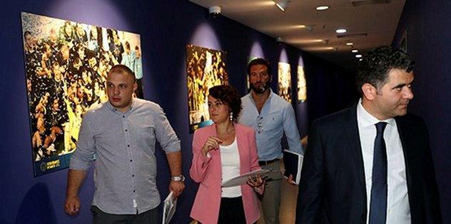 UEFA yetkilileri Şaraçoğlu'nda incelemelerde bulundu