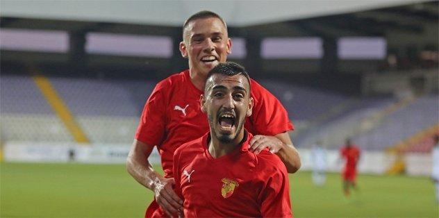 Göztepe El Jadida'yı tek golle geçti