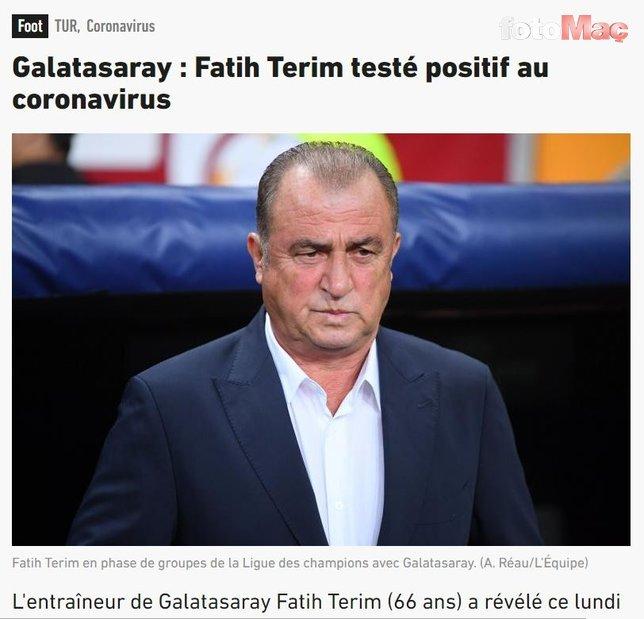 Avrupa basını Fatih Terim'i böyle duyurdu! Corona virüsü...
