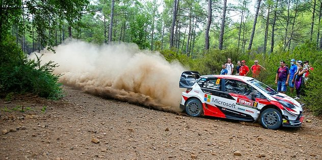 WRC Türkiye Rallisi ikinci gün yarışları başladı