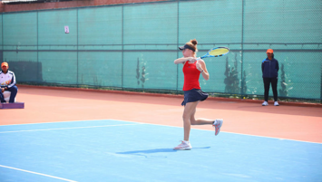 Milli tenisçi Berfu Cengiz finalde kaybetti