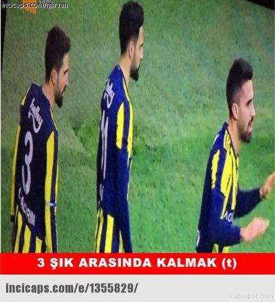 Beşiktaş-F.Bahçe maçı capsleri
