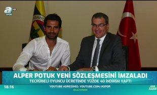 Alper Potuk yeni sözleşmesini imzaladı