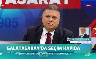 """Levent Tüzemen: Mustafa Cengiz """"Gündemimizde seçim yok"""" dedi"""