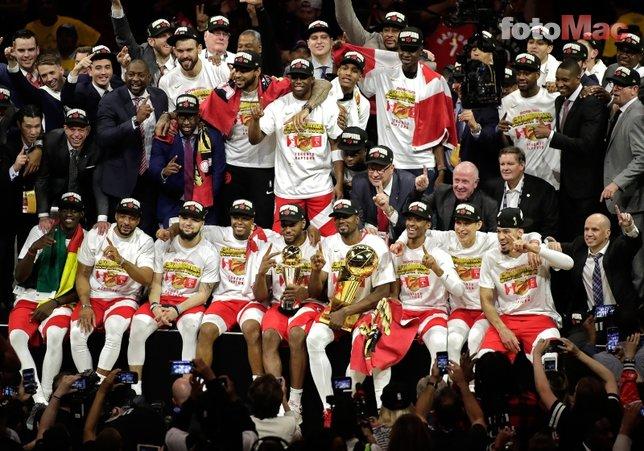 Golden State Warriors - Toronto Raptors maçından kareler