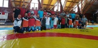 U23 Grekoromen Güreş Milli Takımı çalışmalarını sürdürüyor