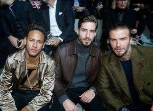 Futbol dünyası Paris Moda Haftası'nda bir araya geldi