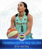Fenerbahçe, Bria Hartley'i kadrosuna kattı