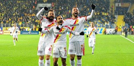 Göztepe Ankara'da 3 golle kazandı!