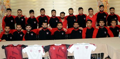 Gaziantepspor'da futbolcular tek yürek!