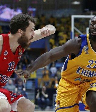 Basketbol: THY Avrupa Ligi play-off | Khimki 79-73 CSKA Moskova