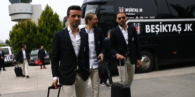 Beşiktaş, çeyrek final için yola çıktı