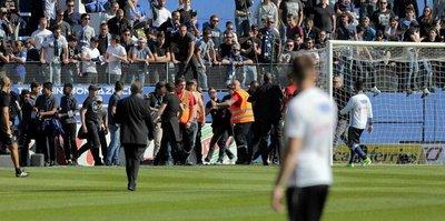 Olympique Lyon maçı yarıda kaldı