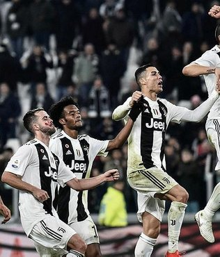 Juventus galibiyet serisini sürdürdü