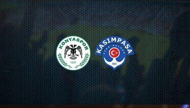 Konyaspor - Kasımpaşa maçı ne zaman, saat kaçta, hangi kanalda canlı yayınlanacak? | Süper Lig