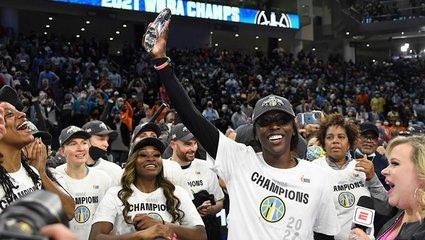 WNBA'de Chicago Sky tarihindeki ilk şampiyonluğunu kazandı