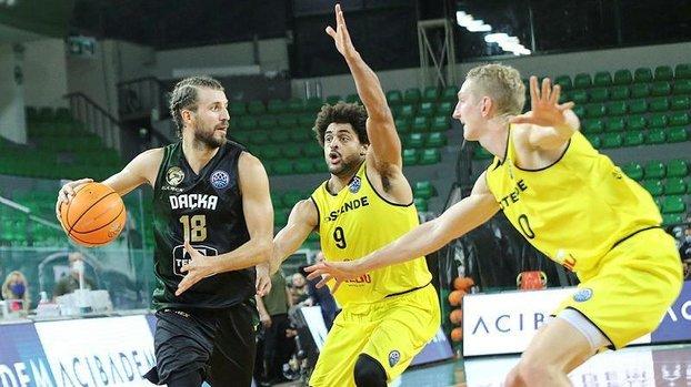 FIBA Şampiyonlar Ligi: Darüşşafaka Tekfen 79-74 Filou Oostende | MAÇ SONUCU #