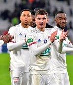 Lyon tek golle yarı finale yürüdü