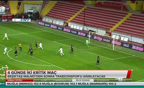 Beşiktaş'ta 4 günde 2 kritik maç