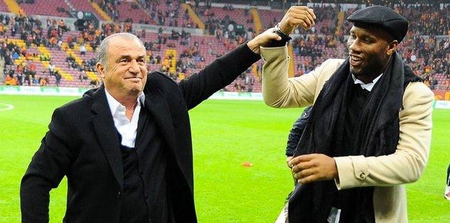 Galatasaray'dan Drogba'ya transfer teşekkürü!
