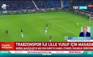 Trabzonspor Yusuf Yazıcı için Lille ile masada
