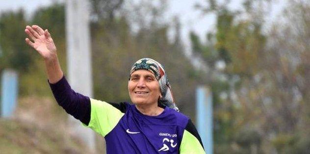 80 yaşında maratondan maratona koşuyor