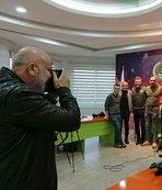 Deklanşöre bu kez başkan Çavuşoğlu bastı