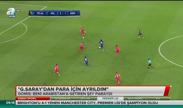 Bafetimbi Gomis: Galatasaray'dan para için ayrıldım