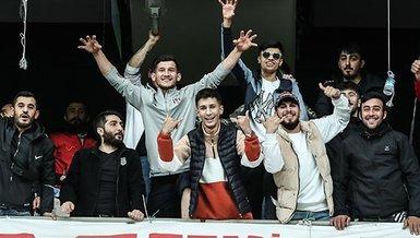 Beşiktaş Fatih Karagümrük maçında kapılar açıldı taraftar stada girdi!