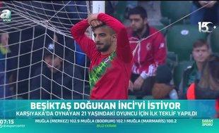 Beşiktaş teklif yaptı! Doğukan İnci...