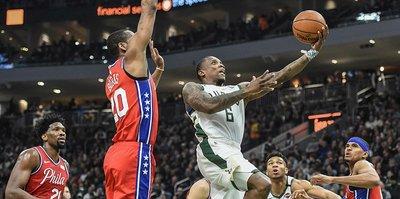 NBA'de Milwaukee Bucks, play-off biletini aldı!