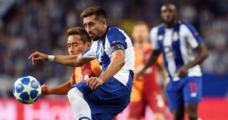 Galatasaray'da Hector Herrera harekatı!