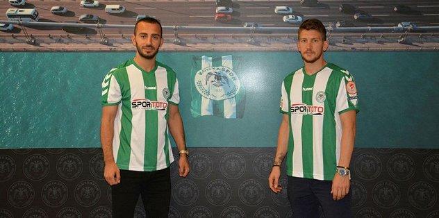 Konyaspor'dan çifte imza