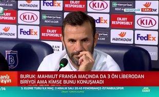 """Okan Buruk:""""Son maçta sakatlanan Mahmut, yarın bizimle olmayacak"""""""