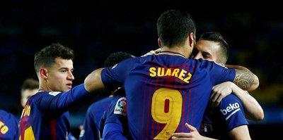 Barcelona Kral Kupası'nda finale yakın