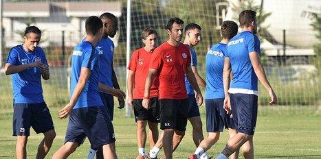 Antalyaspor, Galatasaray'a hazırlanıyor