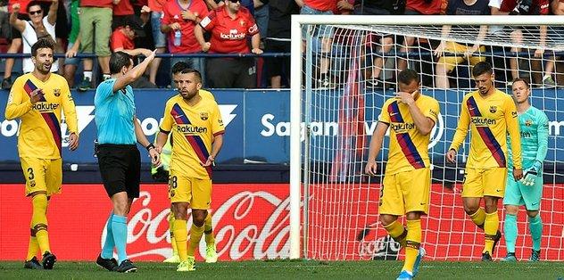 Osasuna 2-2 Barcelona