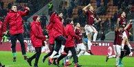 Milano derbisinin galibi Milan!