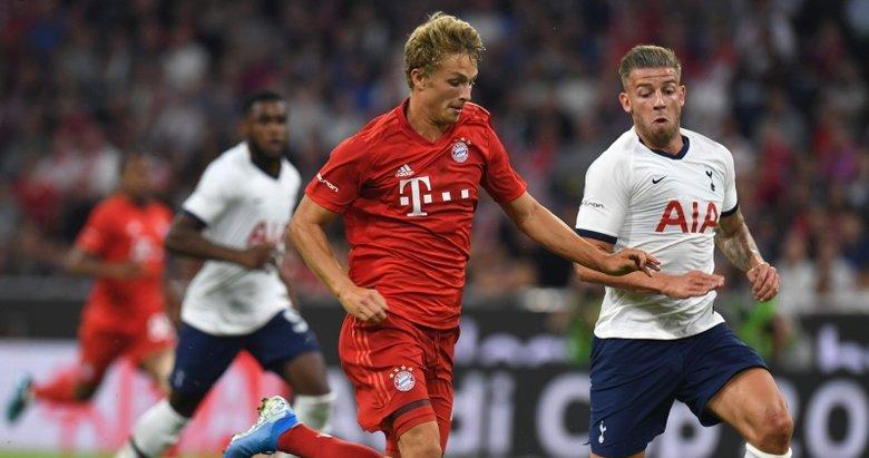 Tottenham - Bayern Münih maçından kareler...