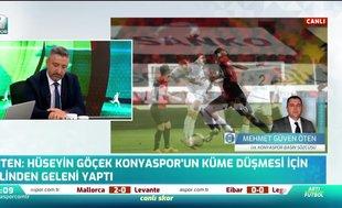 Konyaspor'dan Hüseyin Göçek'e tepki