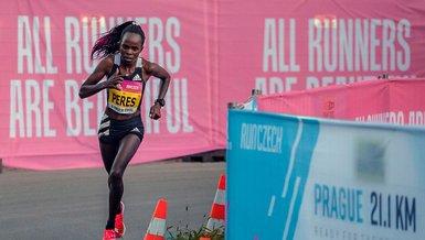 Peres Jepchirchir yarı maratonda dünya rekorunun sahibi oldu
