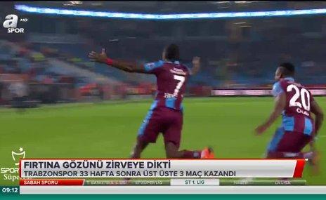 Trabzonspor gözünü zirveye dikti