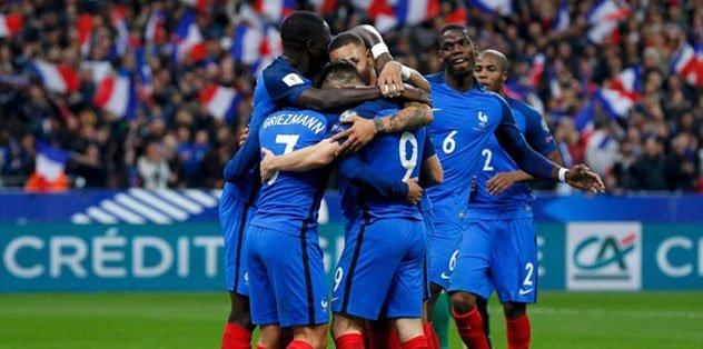 Fransa'nın EURO 2020 aday kadrosu belli oldu