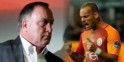 Sneijder'in intikamı!