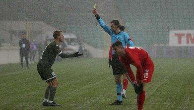 Bursaspor - Tuzlaspor maçının hakemlerine şike suçlaması!
